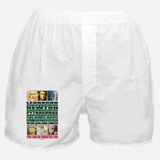 youcanbeSmarter2_poster Boxer Shorts
