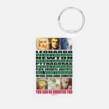 youcanbeSmarter2_poster Keychains