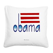 obama blue - 2012 Square Canvas Pillow