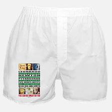 youcanbeSmarter2_posterB Boxer Shorts