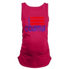 obama dak - 2012 Maternity Tank Top