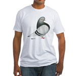 Silver Domestic Flight Fitted T-Shirt