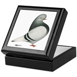 Silver Domestic Flight Keepsake Box