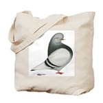Silver Domestic Flight Tote Bag