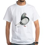 Silver Domestic Flight White T-Shirt