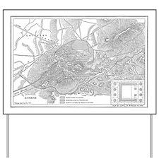 athensmap(btsfd208) Yard Sign