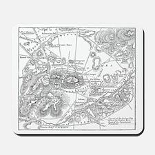 athensmap(pck149) Mousepad