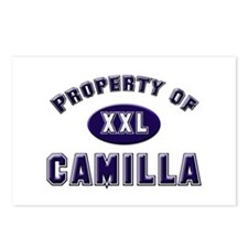 Property of camilla Postcards (Package of 8)