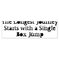 JOURNEY WHITE Bumper Sticker