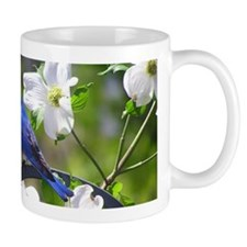 Bluebird & Dogwood Mug