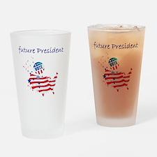 future president Drinking Glass