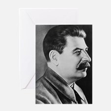 stalin Greeting Card