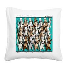Energizer Ferrets Square Canvas Pillow