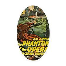 phantom of the opera BIG Oval Car Magnet