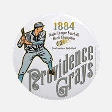 Providence Grays Round Ornament