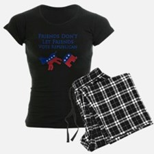 Friends Dont Let Friends Vot Pajamas
