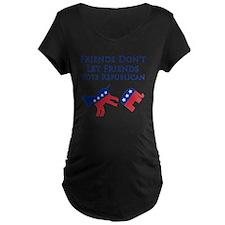 Friends Dont Let Friends Vo T-Shirt