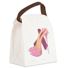 Stand-Up-Against-Breast-Cancer-bl Canvas Lunch Bag