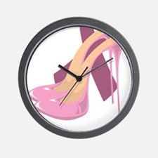 Stand-Up-Against-Breast-Cancer-blk Wall Clock