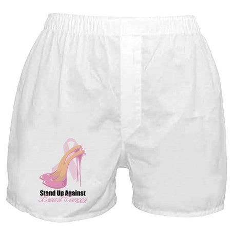 Stand-Up-Against-Breast-Cancer Boxer Shorts