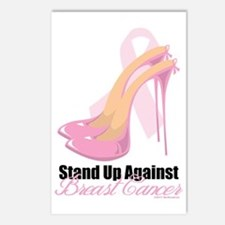 Stand-Up-Against-Breast-C Postcards (Package of 8)