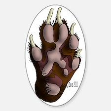 Ferret Paw Decal