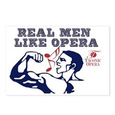 real-men-like-opera4 Postcards (Package of 8)