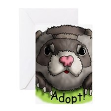 Adopt 2 Greeting Card
