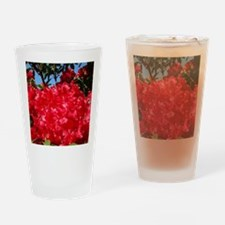 Rhodies Red 15M Rhododendrons fjowe Drinking Glass