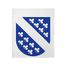 Kassel COA (white) Throw Blanket