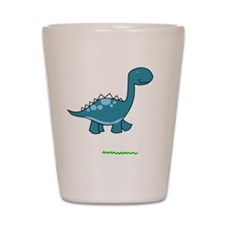 dinosaur2 Shot Glass