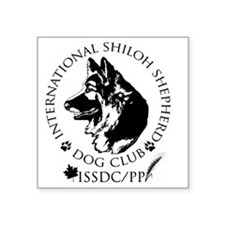 "ISSDC-PP(medalian)_071811 Square Sticker 3"" x 3"""