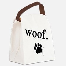 Woof Design Canvas Lunch Bag