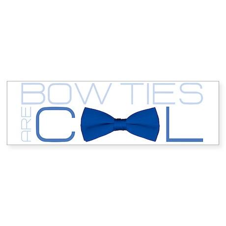 bowtie-dark Sticker (Bumper)