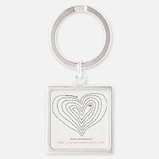 PrentissSongShirt2b Square Keychain