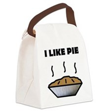 Pie small Canvas Lunch Bag