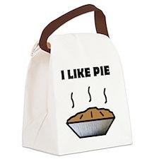 Pie Canvas Lunch Bag
