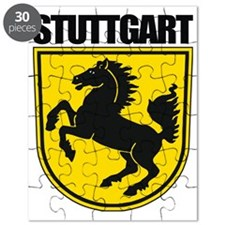 Stuttgart COA (blk) Puzzle