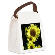 Sunflower 17M Yellow Summer Sun F Canvas Lunch Bag