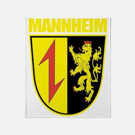 Mannheim (gold) Throw Blanket