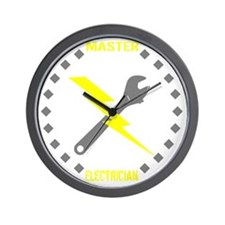 Master Electrician (Pocket Size) Wall Clock