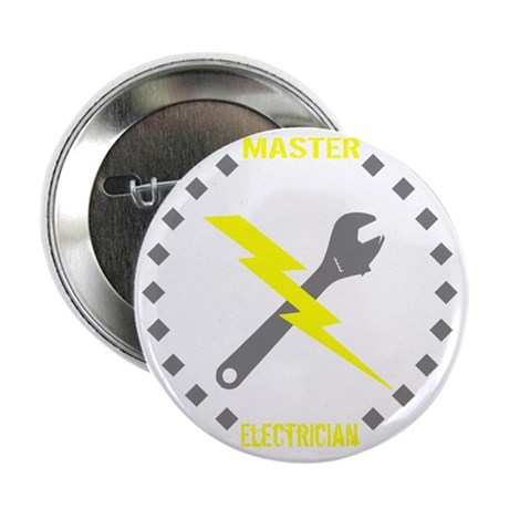 """Master Electrician (Pocket Size) 2.25"""" Button"""