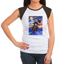 5x7-MC-Eagle1 Women's Cap Sleeve T-Shirt