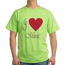 I luv music T-Shirt