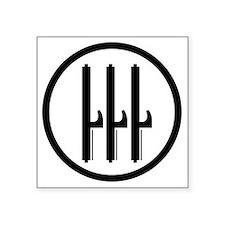 "Kingdom of Italy Fascist Ro Square Sticker 3"" x 3"""