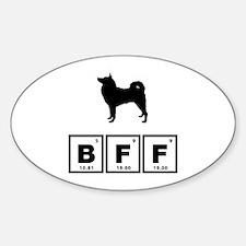 Finnish Spitz Sticker (Oval)