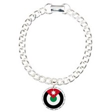 7x7-Roundel-Royal_Jordan Charm Bracelet, One Charm