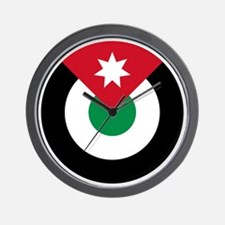 7x7-Roundel-Royal_Jordanian_Air_Force Wall Clock