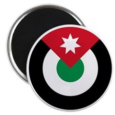 7x7-Roundel-Royal_Jordanian_Air_Force Magnet
