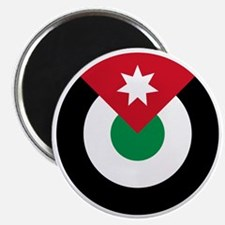7x7-Roundel-Royal_Jordanian_Air_Force Magnet